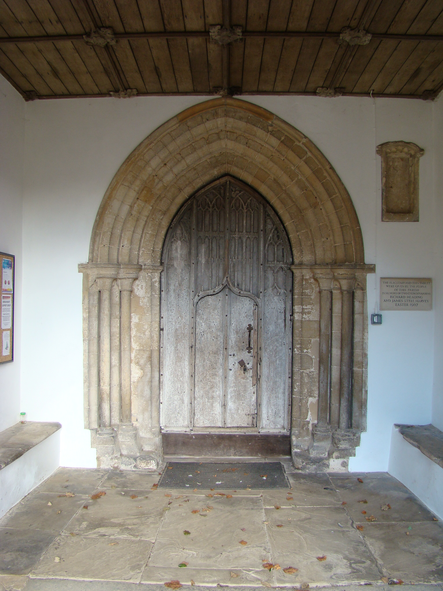 Thornham Church Lime work Restoration