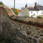 East Rudham Church Wall Restoration