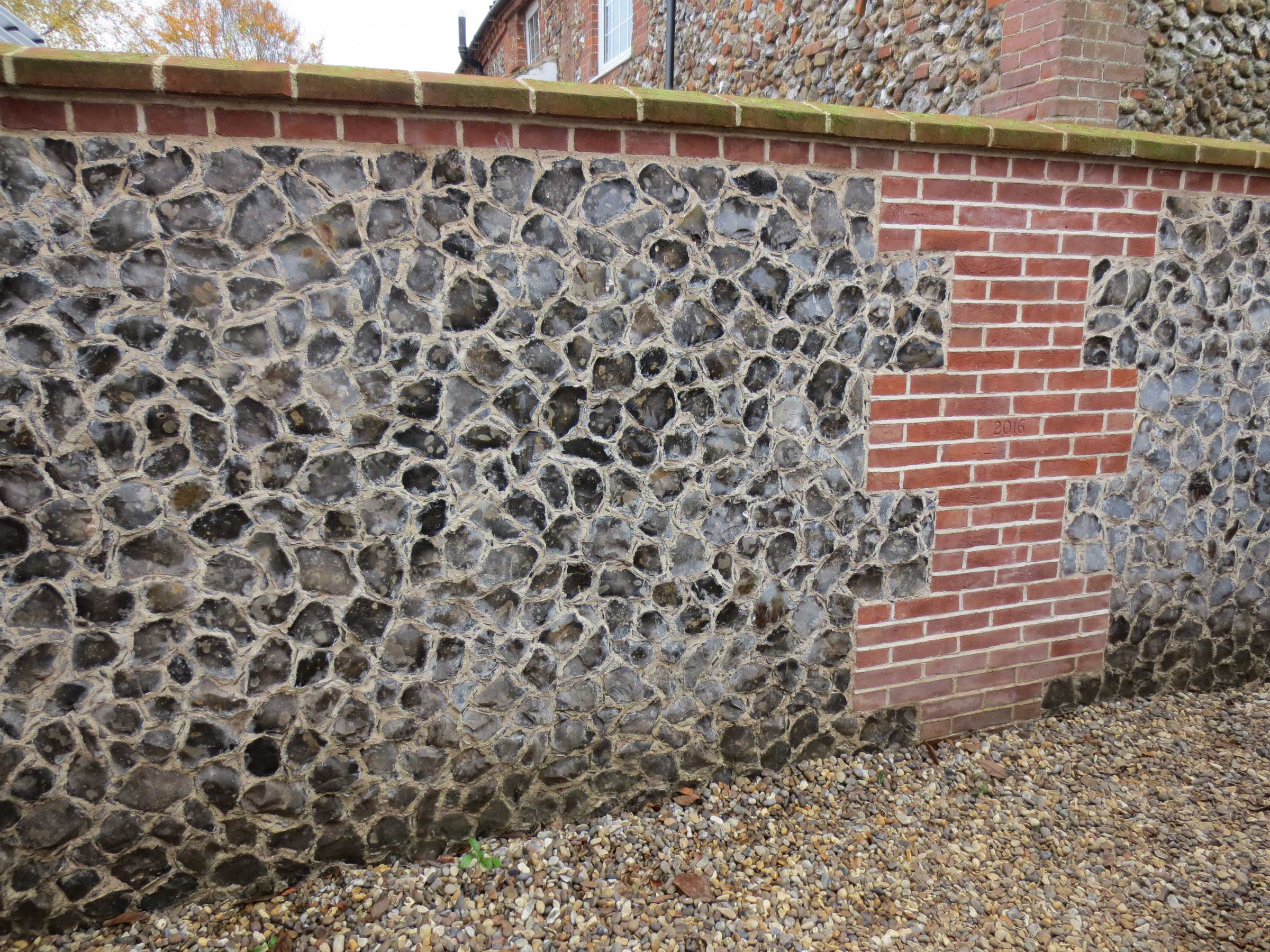 Lime and Flint renovation work example 2