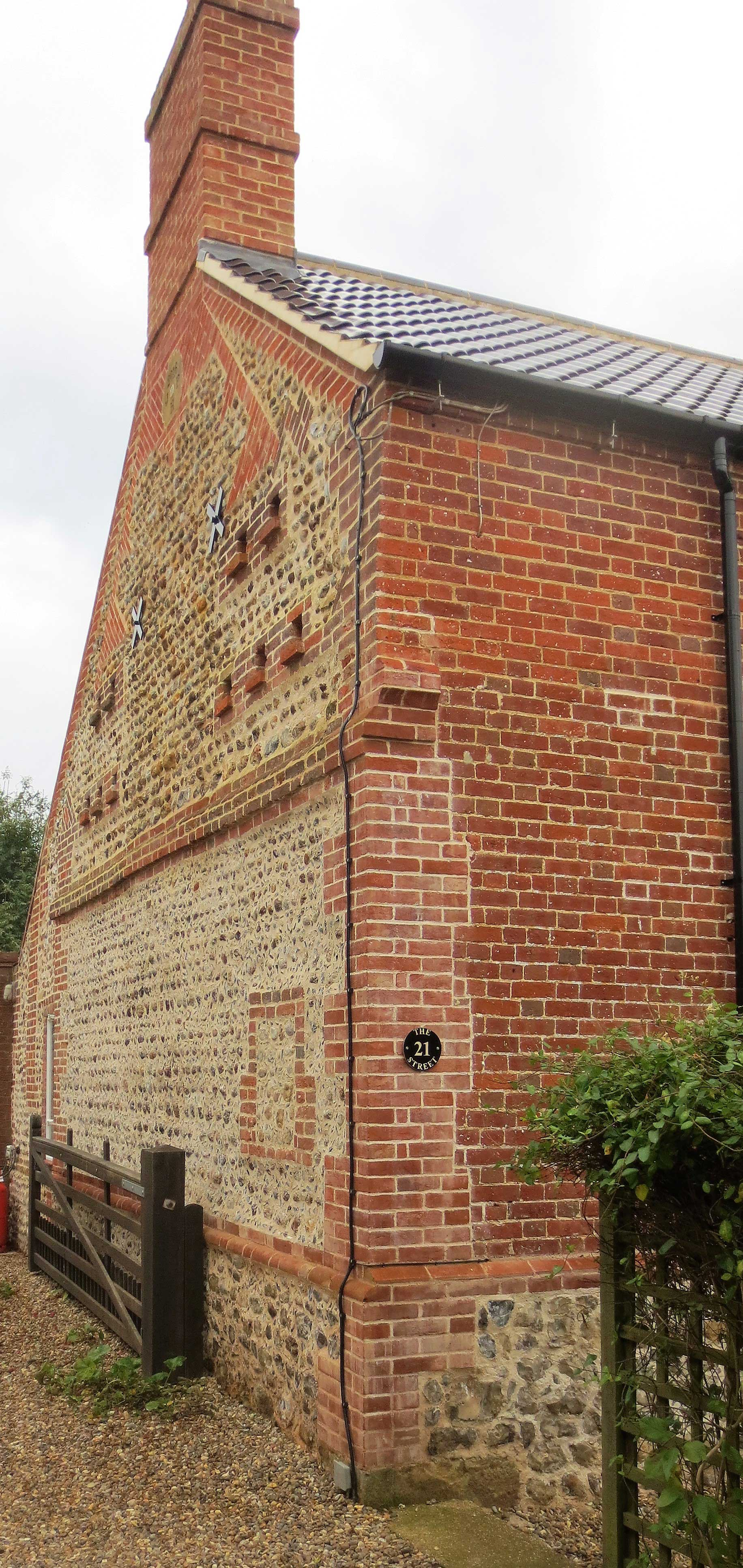 Rudham Church Wall Repair