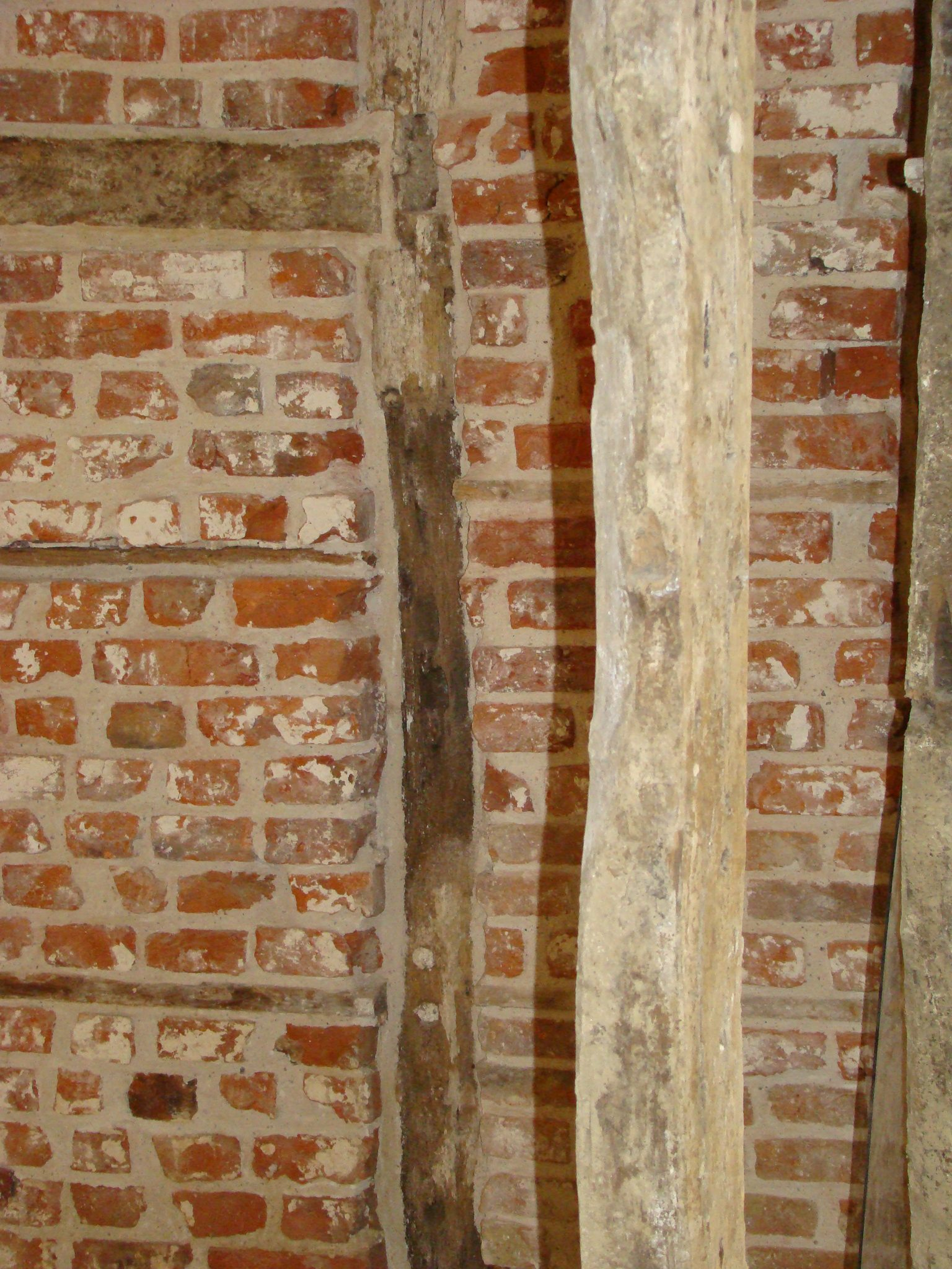 Lime Plastering and Flint Work Renovation Specialists Norfolk UK - brick wall example